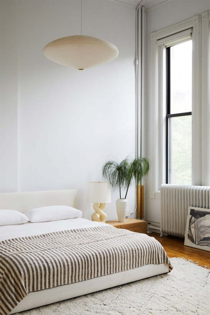 slaapkamer decoratie ideeën vloerkleed