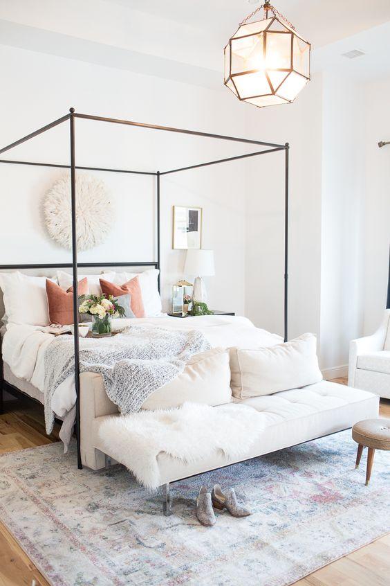 slaapkamer ideeën hemelbed