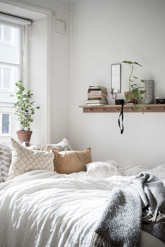 slaapkamer ideeën kapstok