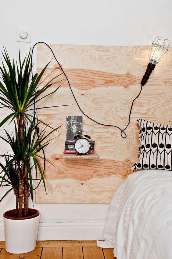 slaapkamer ideeën multiplex hoofdbord