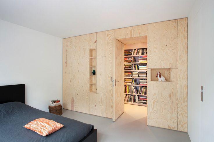 slaapkamer ideeën multiplex-inbouwkast