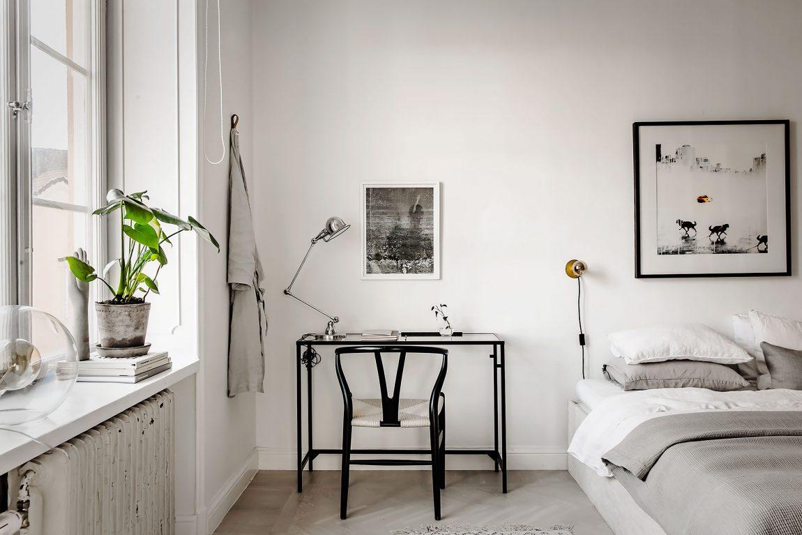 slaapkamer ideeën werkplek