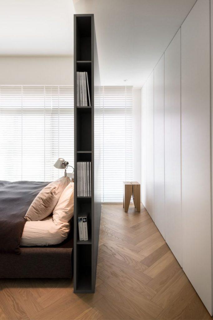 Slaapkamer met inloopkast