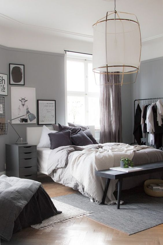 slaapkamer inspiratie bankje