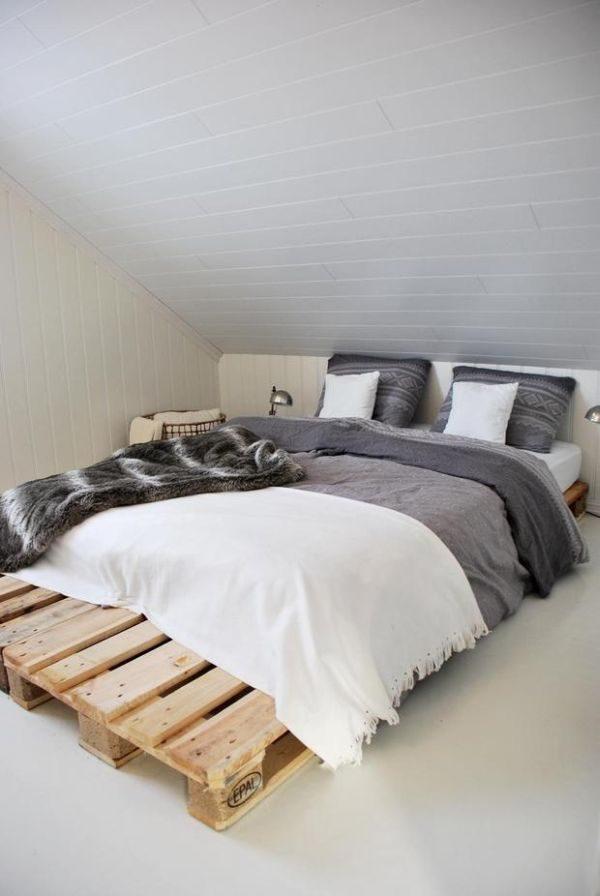 Slaapkamer inspiratie zolder