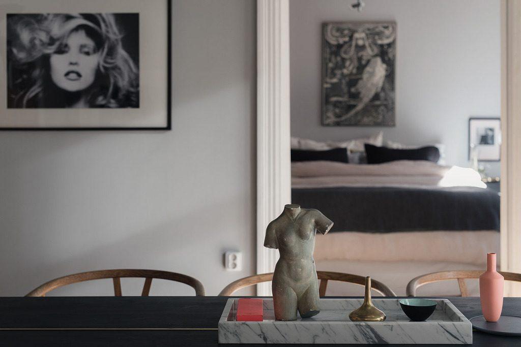 Slaapkamer Grijs Roze : Slaapkamer met een mooie kleurencombinatie van grijs en roze homease