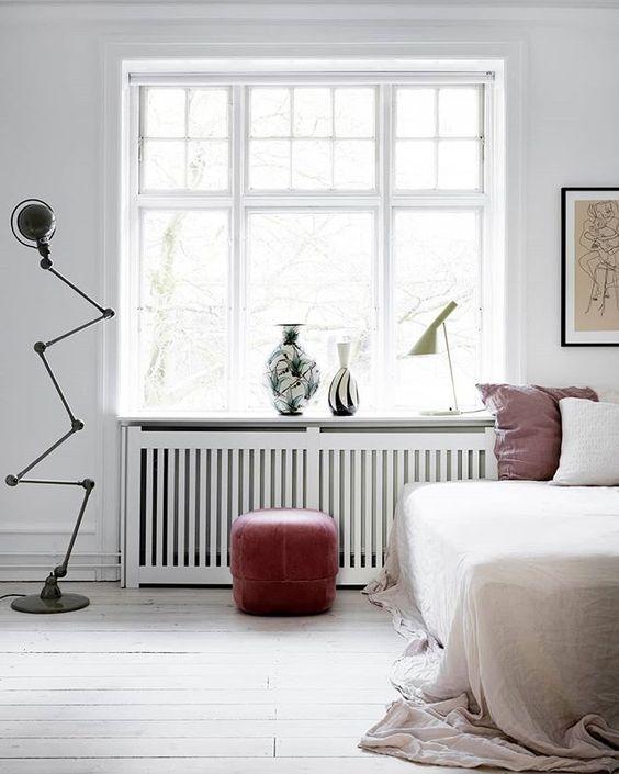 slaapkamer radiator bekleding ideeën