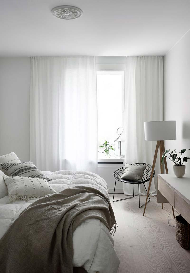 slaapkamer styling plaid