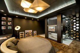 Slaapkamer van profvoetballer