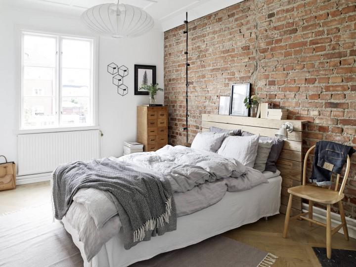 Scandinavische Slaapkamer Ideeen : Scandinavisch interieur slaapkamer werkkamer scandinavisch stoer