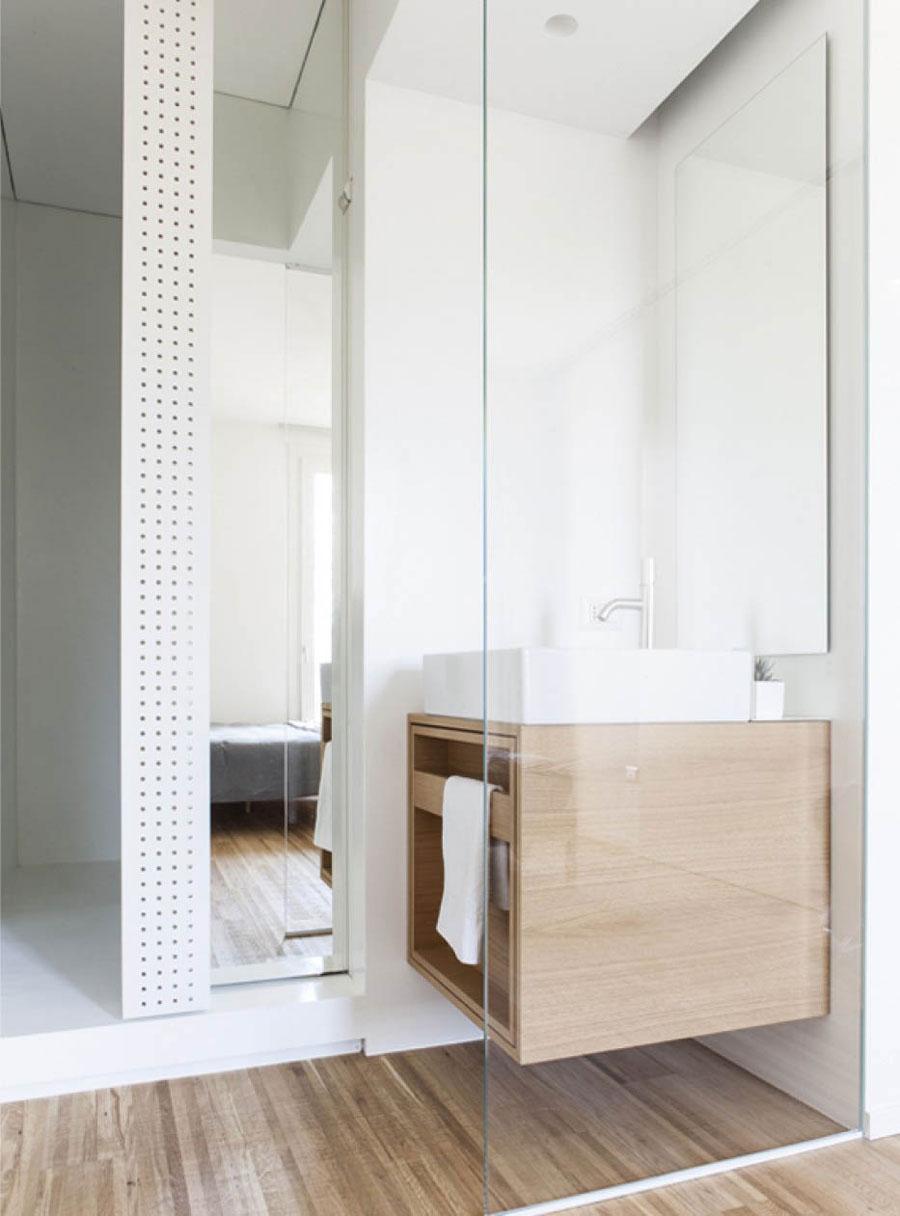 Smalle badkamer ensuite