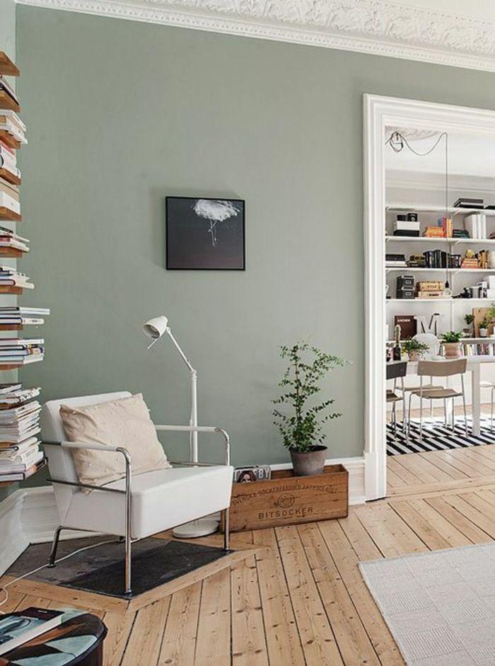 smalle woonkamer houten vloer