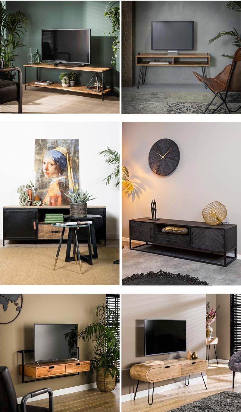soorten tv meubel