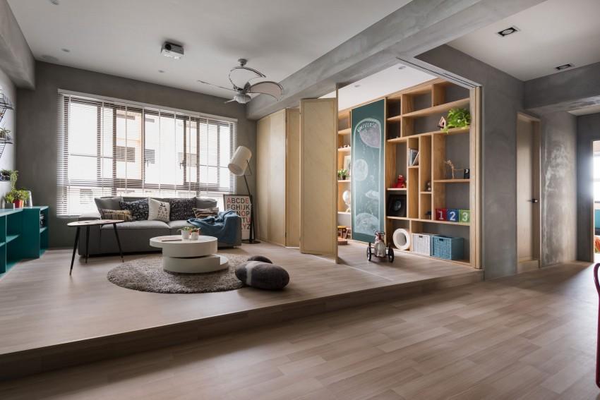 Leuk idee voor speelhoek in woonkamer homease for Huiskamer design