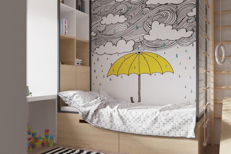Leuke Kinderkamer Kast : Speelse moderne kinderkamer met leuke elementen homease