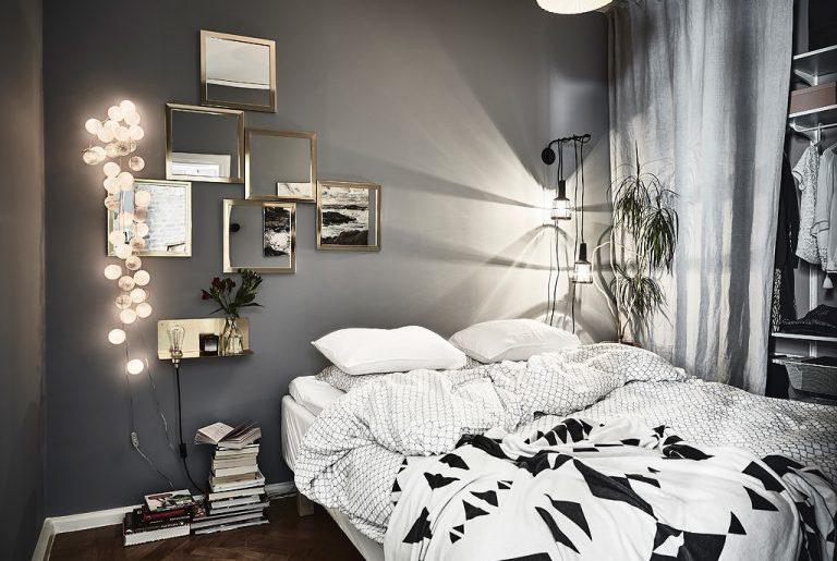 spiegel collage slaapkamer