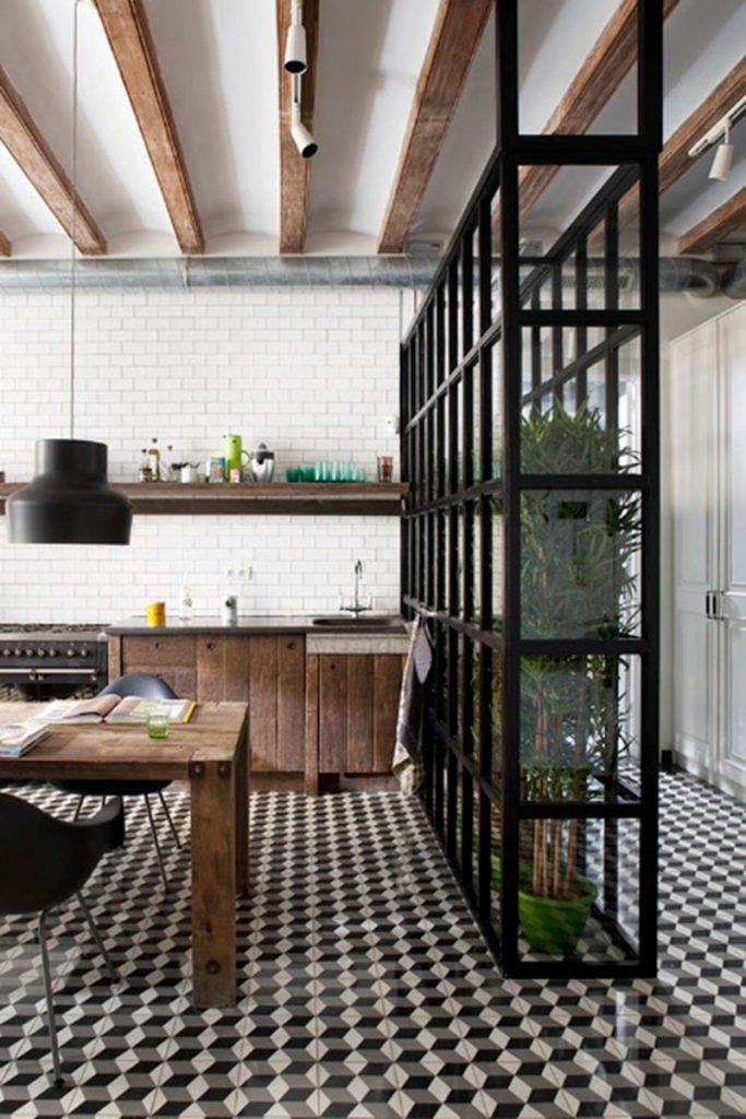 stalen-scheidingswand-keuken