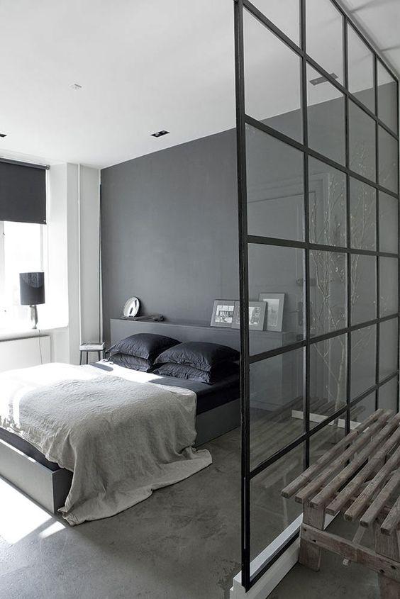 stalen-scheidingswand-slaapkamer
