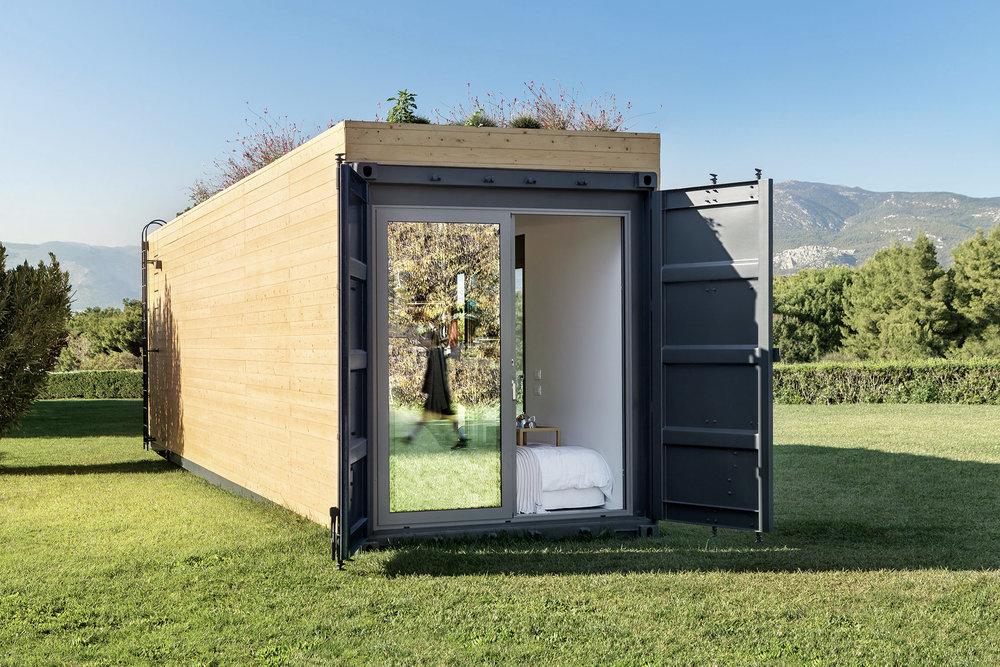 Stijlvol en milieuvriendelijk wonen in een container!