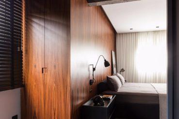 Stoere en exclusieve slaapkamer voor de moderne man