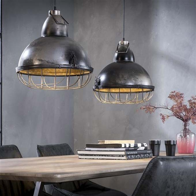 stoere industriele hanglampen