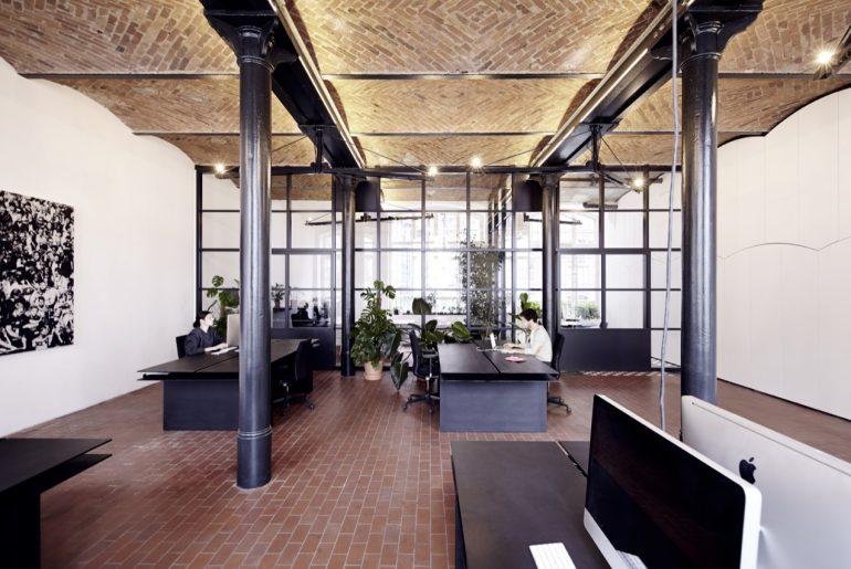 Het stoere kantoor van Sauspiel in Berlijn