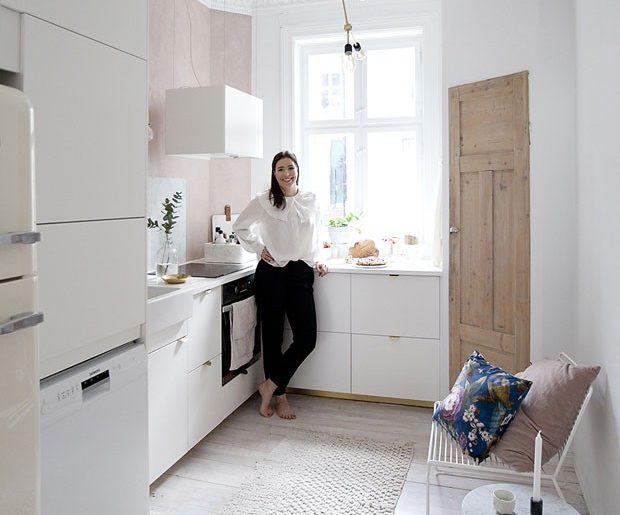 Stoere vrouwelijke keuken