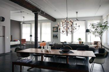 Stoere woonkamer van Dean Di Simone