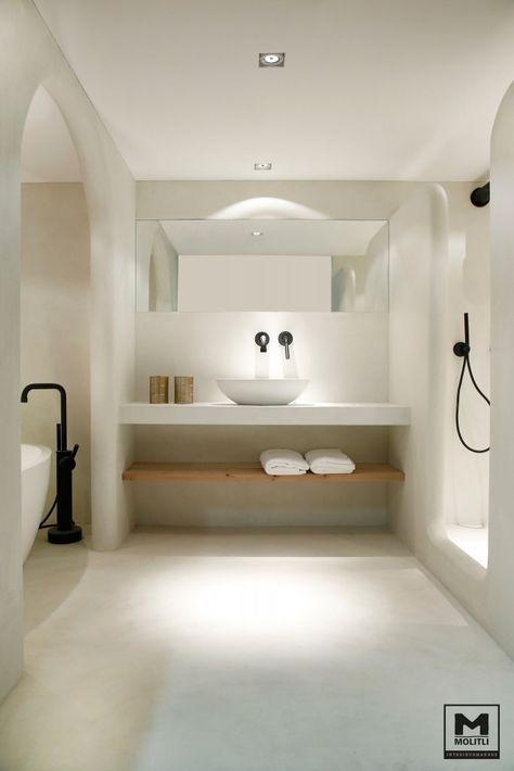 strak wastafelblad badkamer