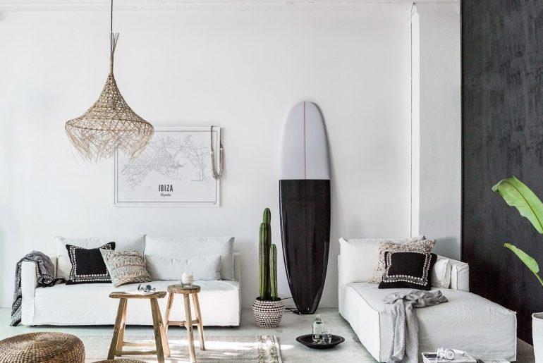 surfboard-woonkamer