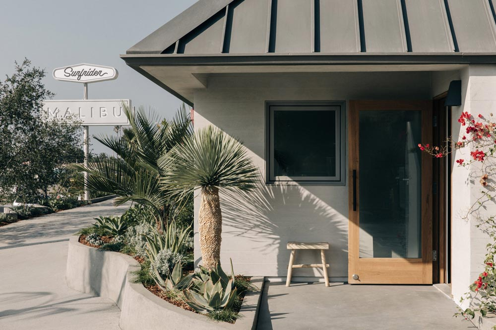 Surfrider hotel in Malibu