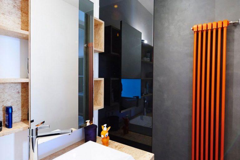 Tadelakt en OSB in badkamer ontwerp