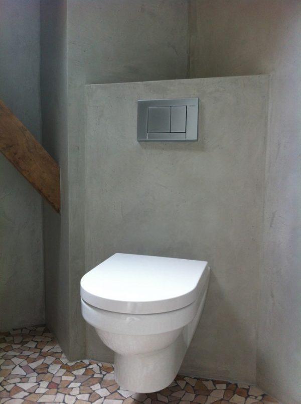 Tadelakt toilet