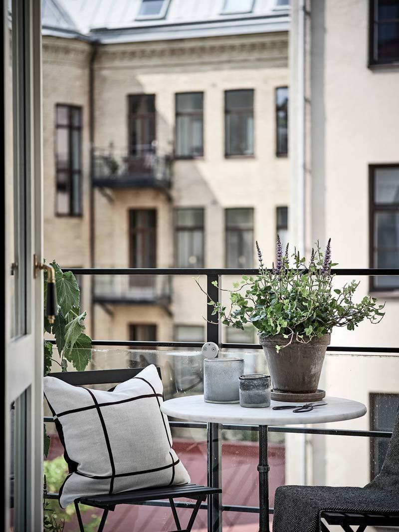 tafel klein balkon
