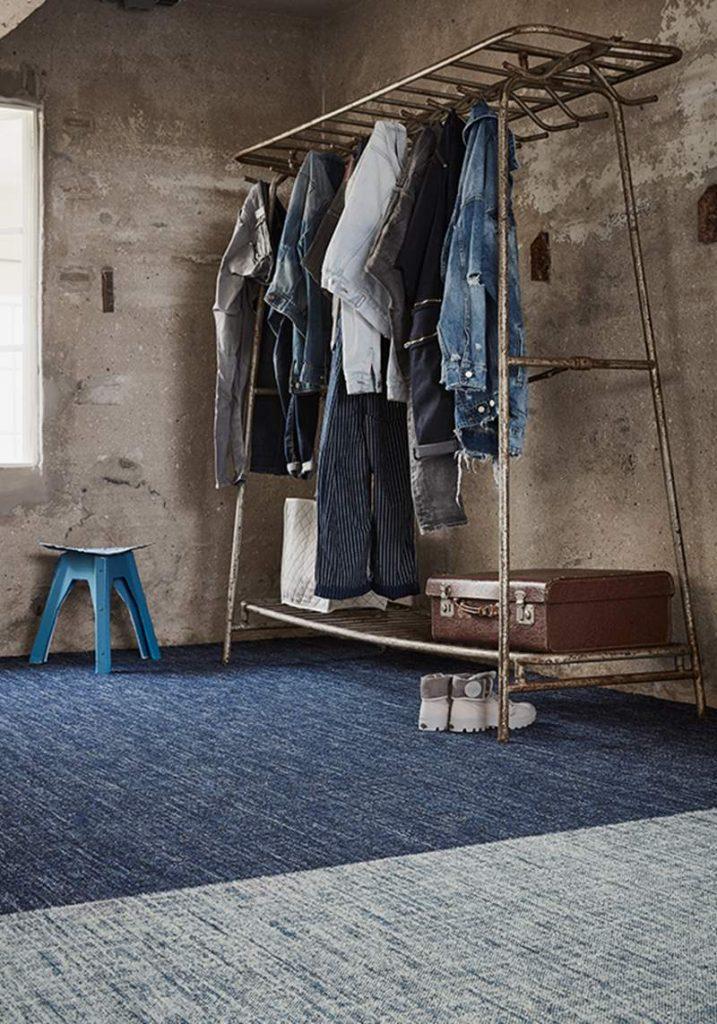 tapijttegels jeans