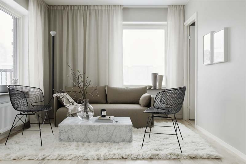 taupe bank interieur