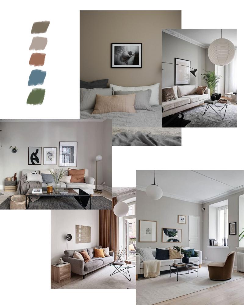 taupe combineren interieur kleuren
