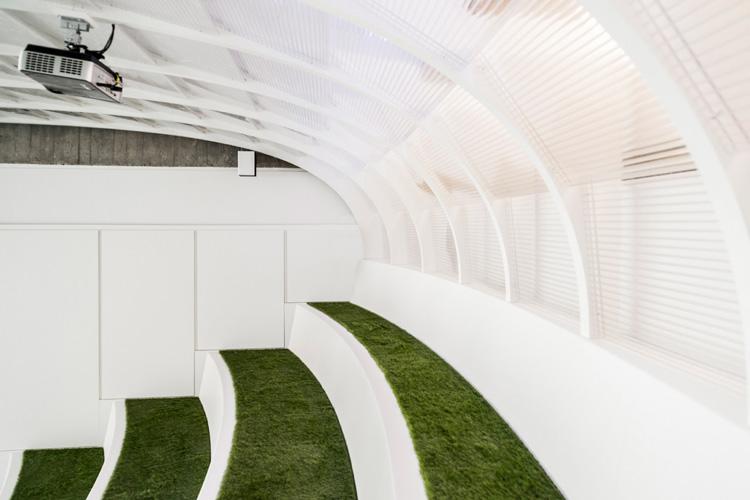 Het te gekke kantoor van Onefootball