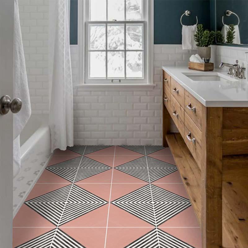 tegelstickers badkamer vloer