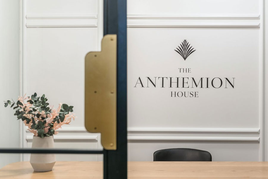 The Anthemion House hotel in Kavala in Griekenland