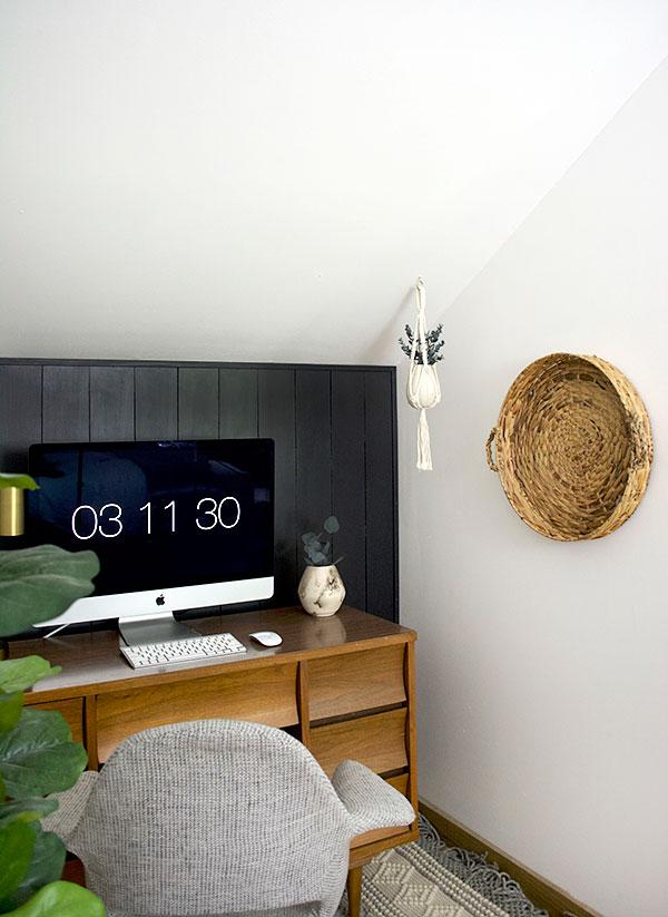 Thuiswerkplek van grafisch ontwerpster Bre