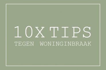 tips woninginbraak