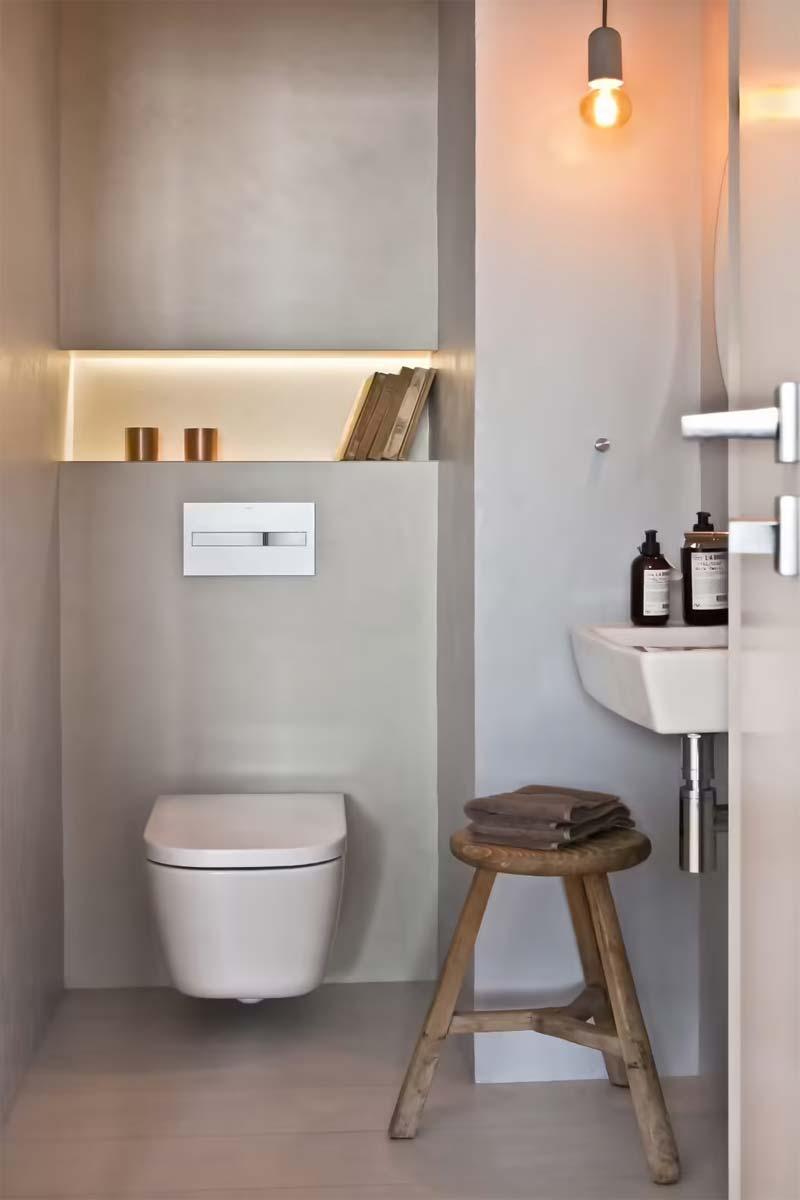 toilet inspiratie modern scandinavisch toilet