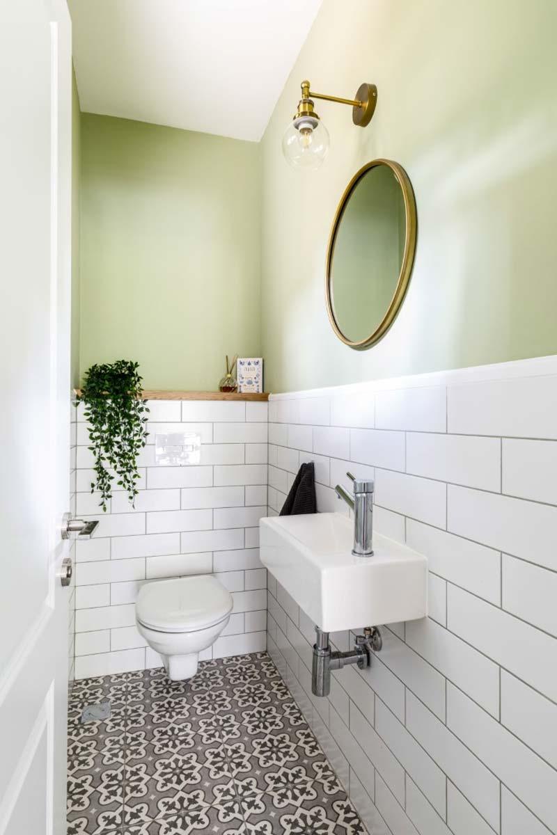 toilet ontwerp metrotegels
