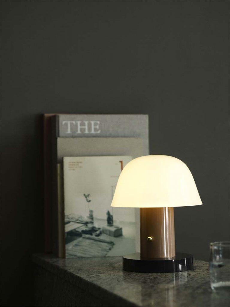 &Tradition's Setago JH27 tafellamp zonder snoer