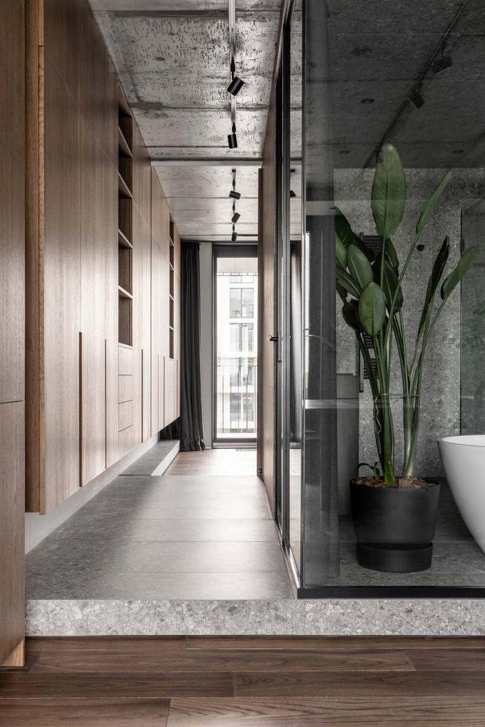 transparante badkamer