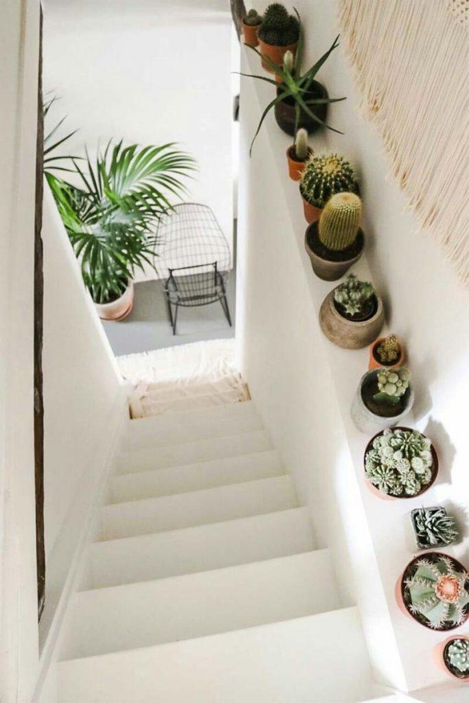 trap renoveren decoratie planten