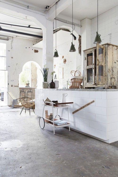trolley-in-keuken