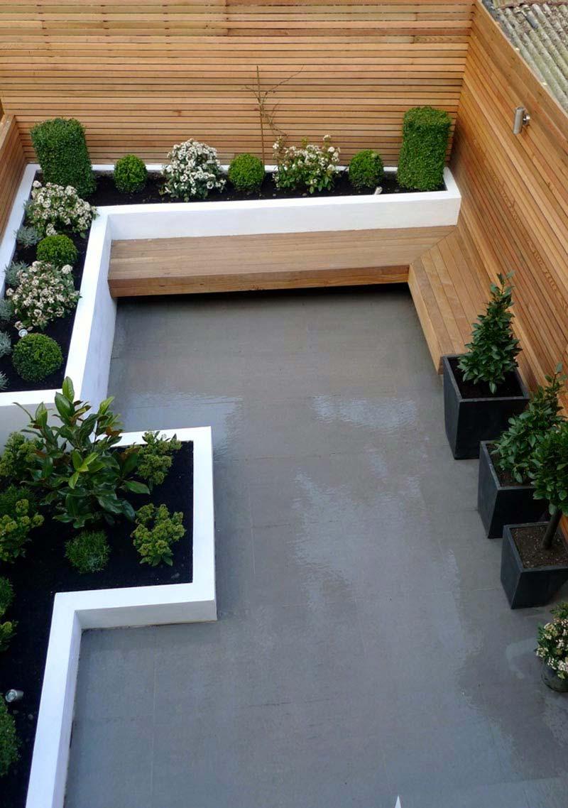 tuin ideeën a-symmetrisch tuinontwerp