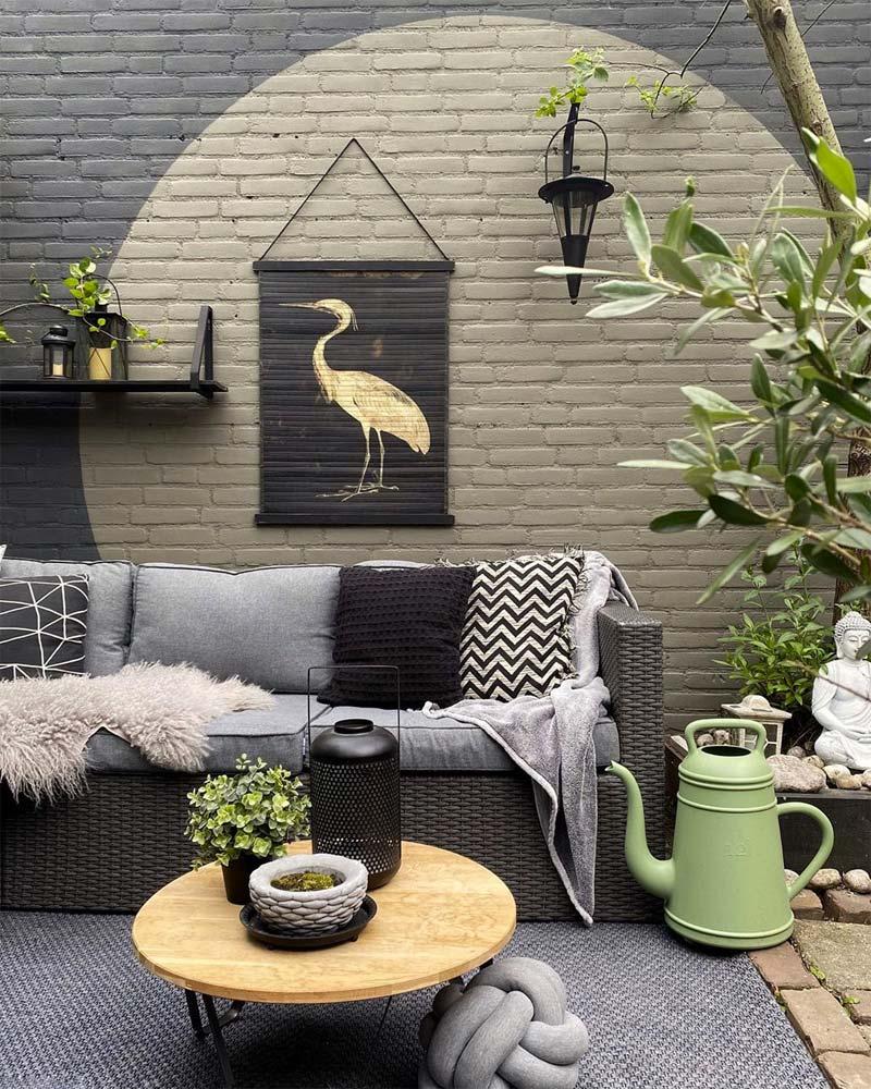 Eclectisch chique tuin van Mooiibo